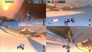 Supersonic Acrobatic Rocket Powered Battle Cars: Learning to Drive (PS3 Multiplayer)