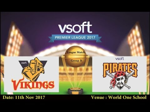 VSOFT Premiere League 2017 | Group B League | Vikings vs Pirates