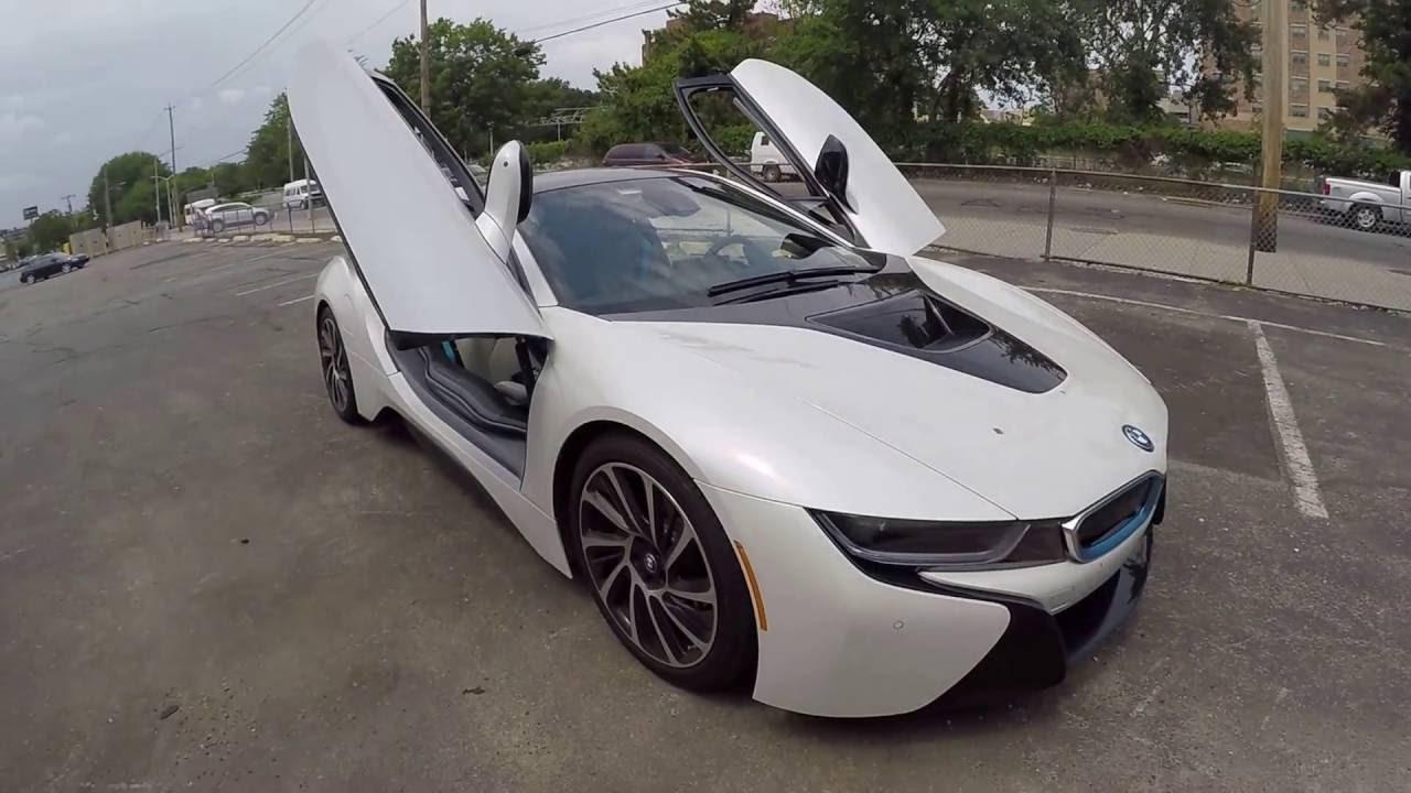 I8 Exterior: BMW I8 Exterior And Interior Review + 360 Around The Car