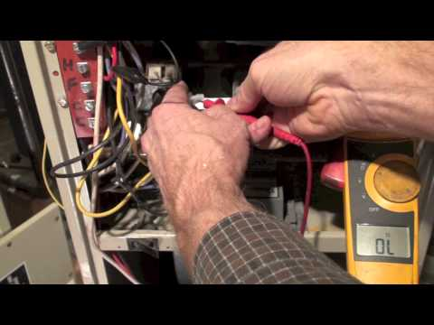 Troubleshoot the ignitor of the Rheem RGDA model gas furnace part 2