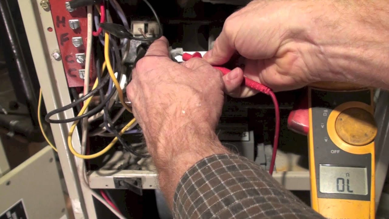 troubleshoot the ignitor of the rheem rgda model gas furnace part 2 [ 1280 x 720 Pixel ]