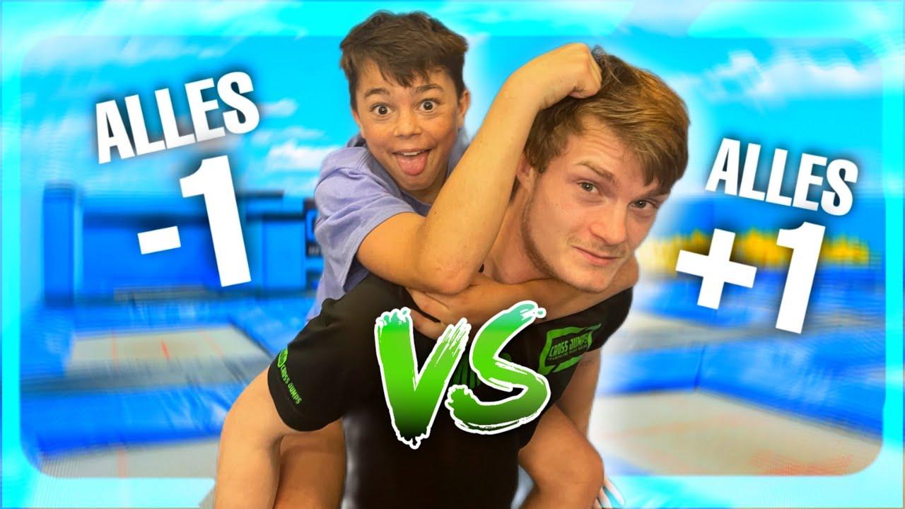 ROBIN VS MILCO GAME OF TRAMP! Cross Jumps