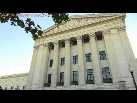 Beautiful View of Supreme Court in Washington DC - youtube.com/tanvideo11