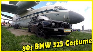 Classic German Cars BMW 325 from the 1980s. Best 80s German vehicles. Old German Cars