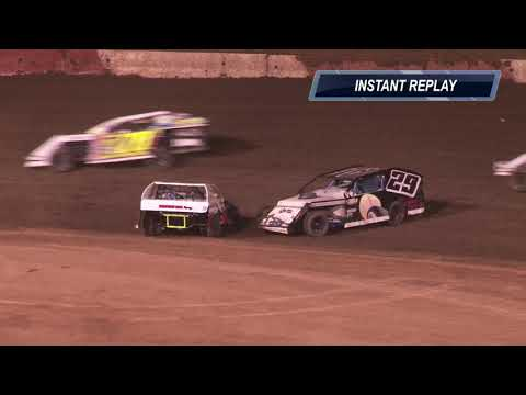 Perris Auto Speedway IMCA Modified Main Event Highlights 6-15-19