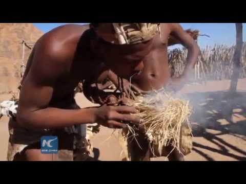 Unique experience of historic Damara culture in Namibia