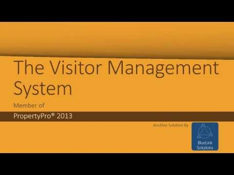 The Visitor Management System