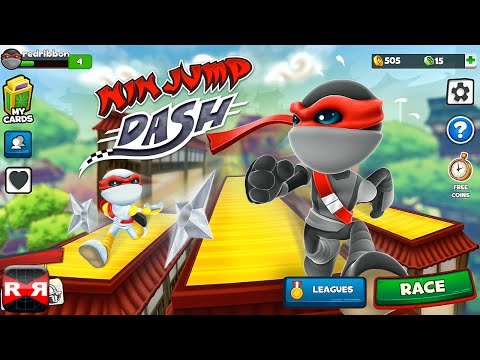 NinJump Dash (By Backflip Studios) - IOS - IPhone/iPad/iPod Touch Gameplay