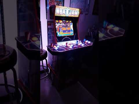 NBA Jam Arcade1up Reveal Video from Billy Vaux