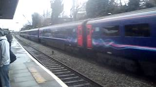 Class 43 HST Intercity 125 First Great Western Passing Ealing Broadway Station Non Stop