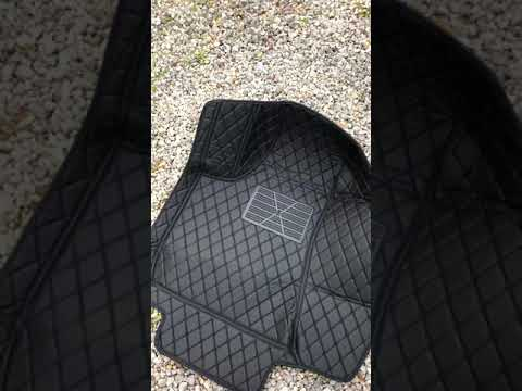 2016 Dodge Charger Chinese Diamond Leather Floormats