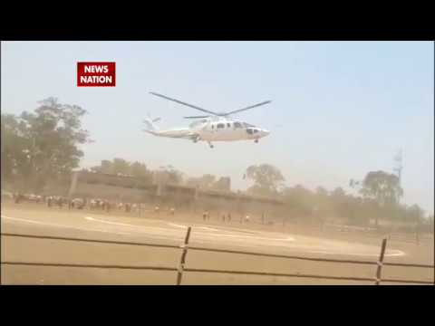 Crash-landing of Maharashtra CM Devendra Fadnavis's chopper in Latur
