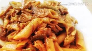 Chicken pasta......Japanese style