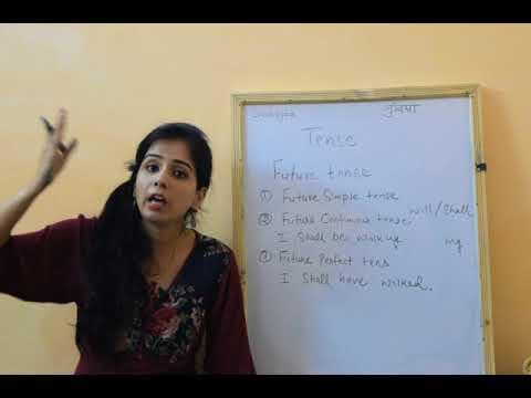 Future tense in Hindi