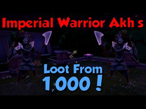 Loot from 1,000 Imperial Warrior Akh! [Runescape 3] Menaphos Slayer Update!