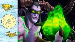Пробелы в истории Warcraft
