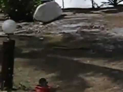 Tsunami In India 2004 Live Footage