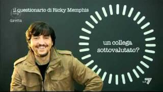 NIENTE DI PERSONALE 13/02/2011 - Il questionario di Ricky Memphis