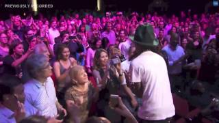 Pharrell Williams Performs Happy Live Apollo Theater