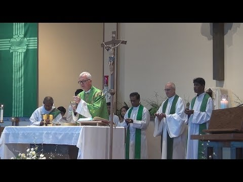 Asian Catholic Unity Day Mass at the church of Our Lady of Consolation 9-24-17