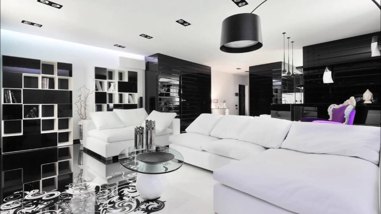 Ultra Modern Bedroom Decorating Ideas With Black And White Fabric ...