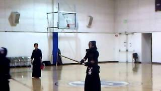 Kendo 2012 Japan Highschool Team vs USA SoCal Youth: Taisho