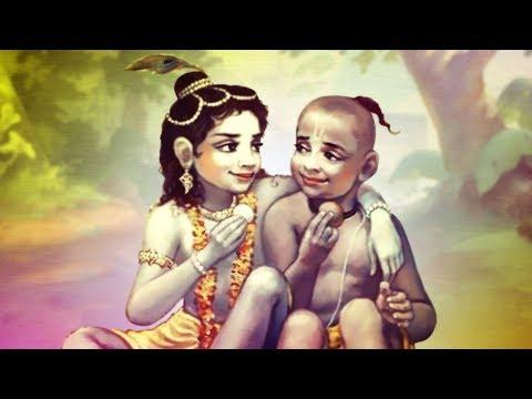 Krishna Bhajan - Bata Mere Yaar Sudama Re With Lyrics | Krishna Bhagwan Ke Bhajan | Krishna Songs