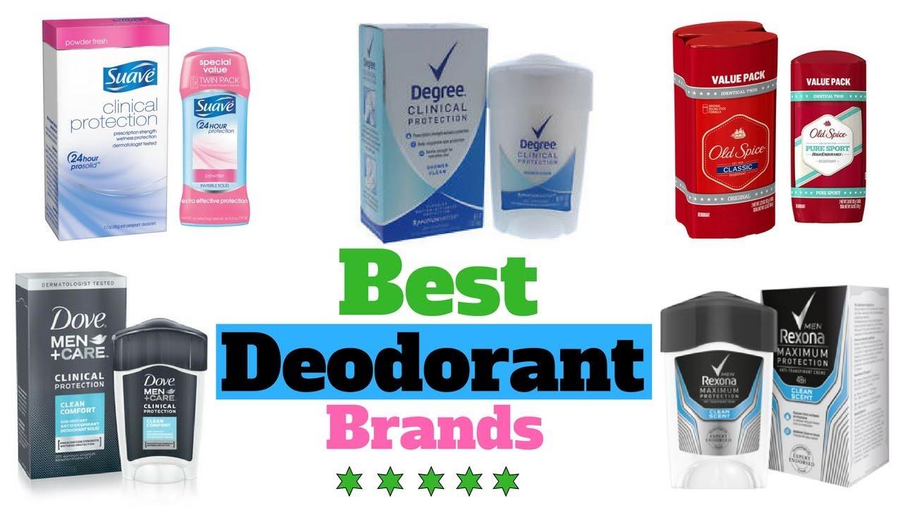 Deodorants - Most Popular And Best Selling Deodorant Brands For Body Odor -  Updates