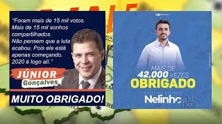 Nelinho Freitas e Júnior Gonçalves são campeões de votos em Russas