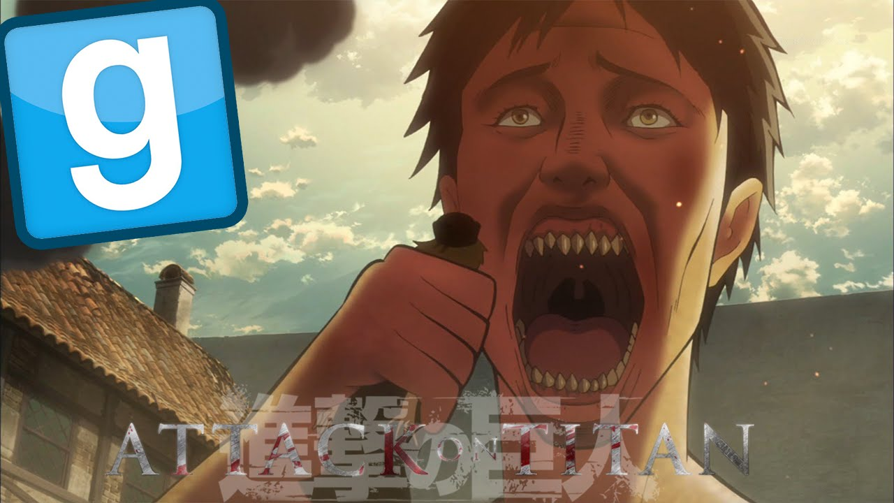 (Garry's Mod) ATTACK ON TITAN - Funny Moments - YouTube