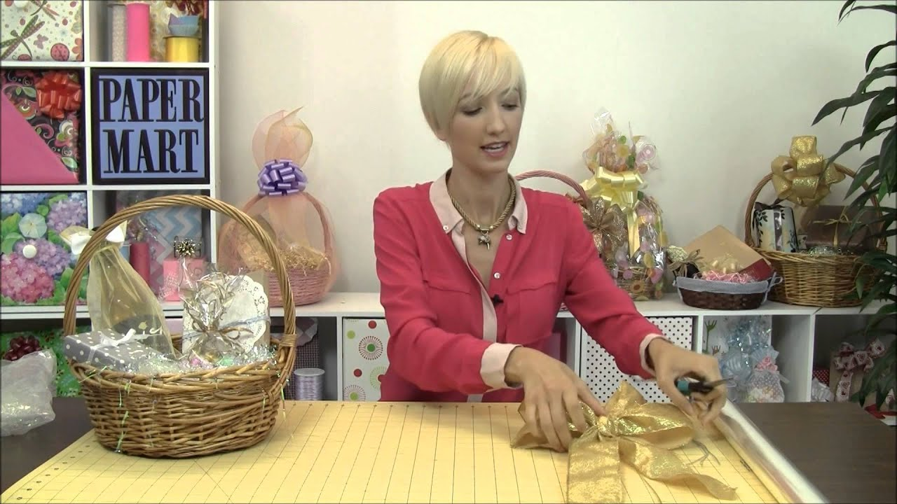 How to Make a Gift Basket - YouTube