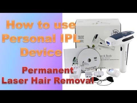 How To Use Nexlux Lobe Moky Homelight IPL (HPL) Laser Hair Removal TM29575