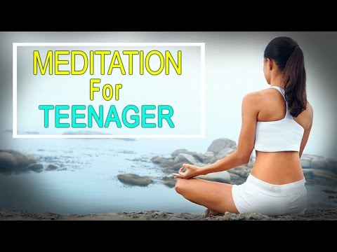 Meditation For Teenagers With  Oceans - Relaxing Meditation - Soothing Music