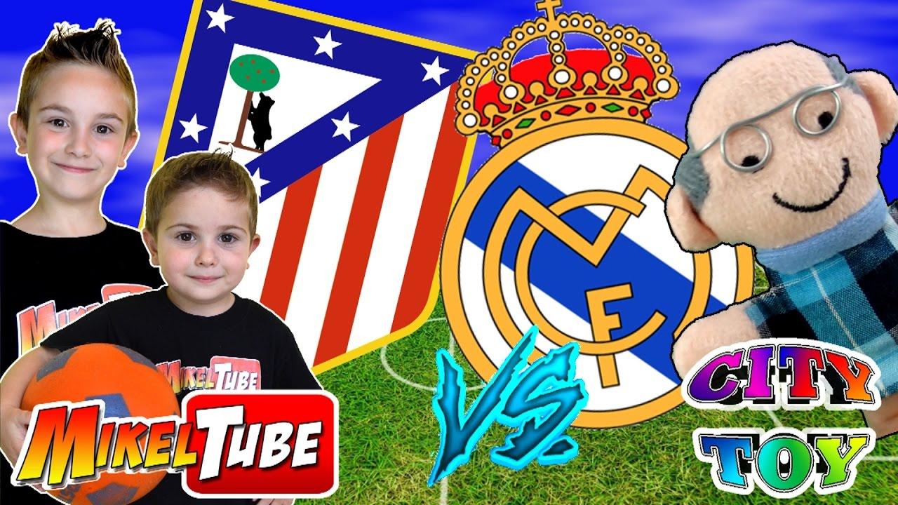 Reto Prediccion Atletico De Madrid Vs Real Madrid Con City Toy Youtube