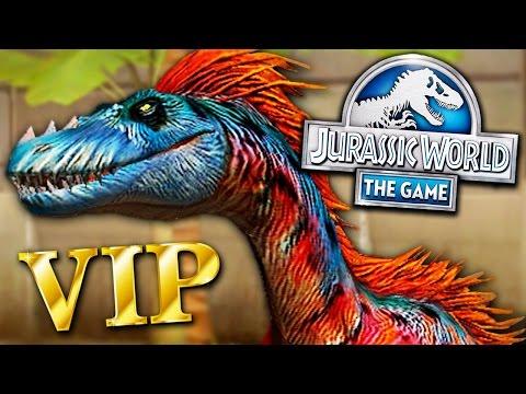 GANHEI UM TANYCOLAGREUS PACOTE VIP! - Jurassic World - O Jogo - Ep 139