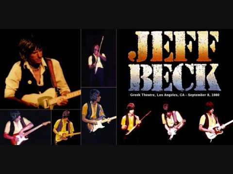 Jeff Beck- Greek Theatre Los Angeles, Ca 9/8/80