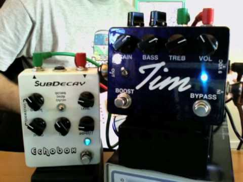 Paul Cochrane Tim Pedal with Subdecay Echobox in l...