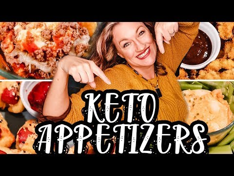 KETO SUPERBOWL SNACKS | BEST KETO APPETIZERS | WHAT TO EAT KETO DIET | Suz and The Crew