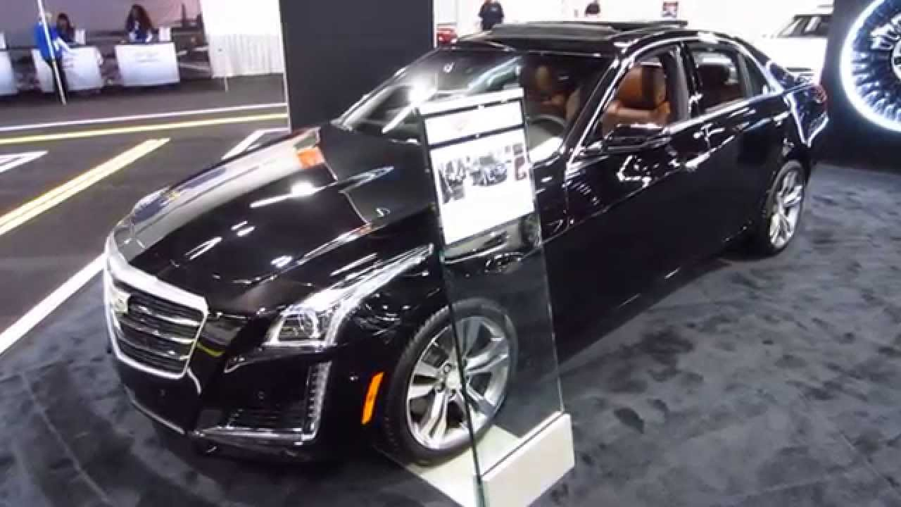 New 2016 Cadillac Cts Vsport Oc Auto Show Anaheim Orange County