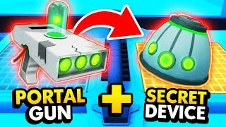 NEW Repairing And Using RICK'S SECRET PORTAL GUN (Rick and Morty: Virtual Rick-Ality Gameplay)