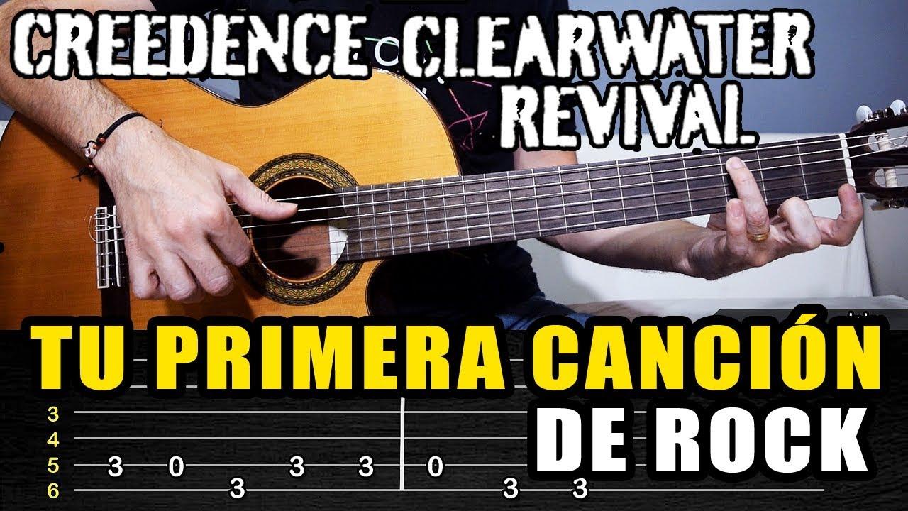 Aprende La Cancion De Rock Mas Facil En Guitarra La Podras Tocar El Primer Dia