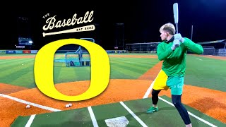 Hitting nukes with the Oregon Ducks under the lights!