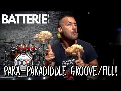 Nouvelle vidéo : Para-paradiddle groove/fill!  (le volant)