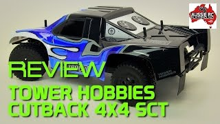 Review: Tower Hobbies Cutback 4X4 Brushless SCT