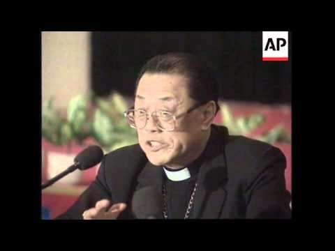 CHINA: CHINESE CATHOLIC CHURCH CRITICISES VATICAN LINKS WITH TAIWAN