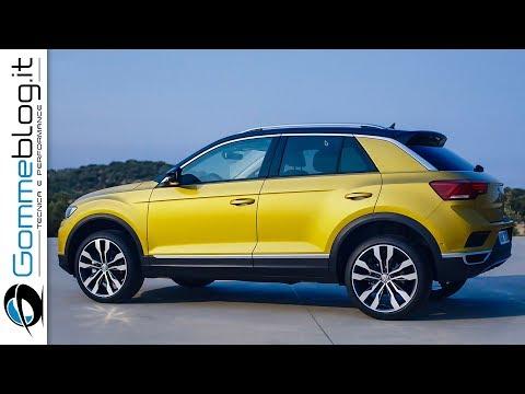 Volkswagen T-Roc INTERIOR + EXTERIOR + DRIVE   Volkswagen Compact SUV