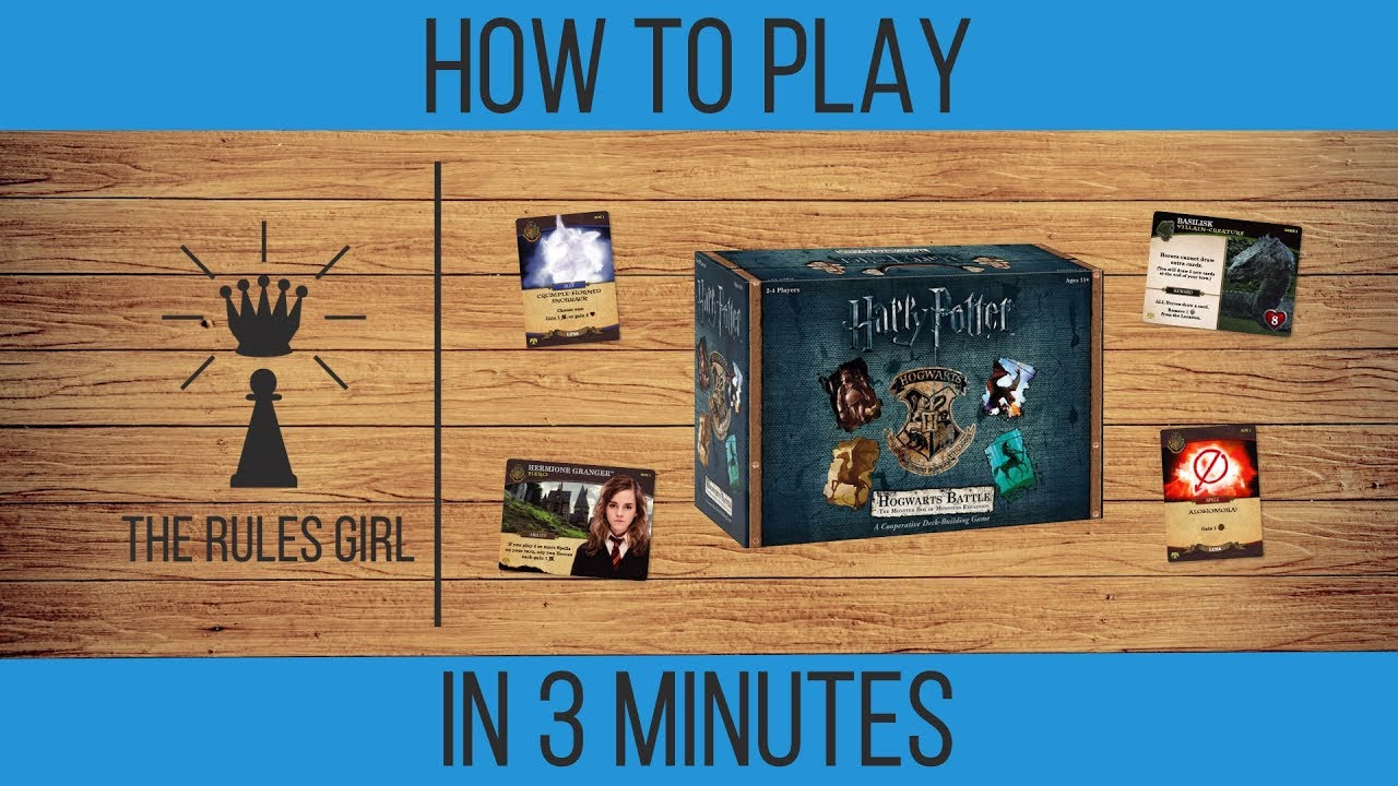 How To Play Harry Potter Hogwarts Battle Monster Box Of Monsters
