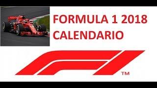 Calendario di formula 1 2018