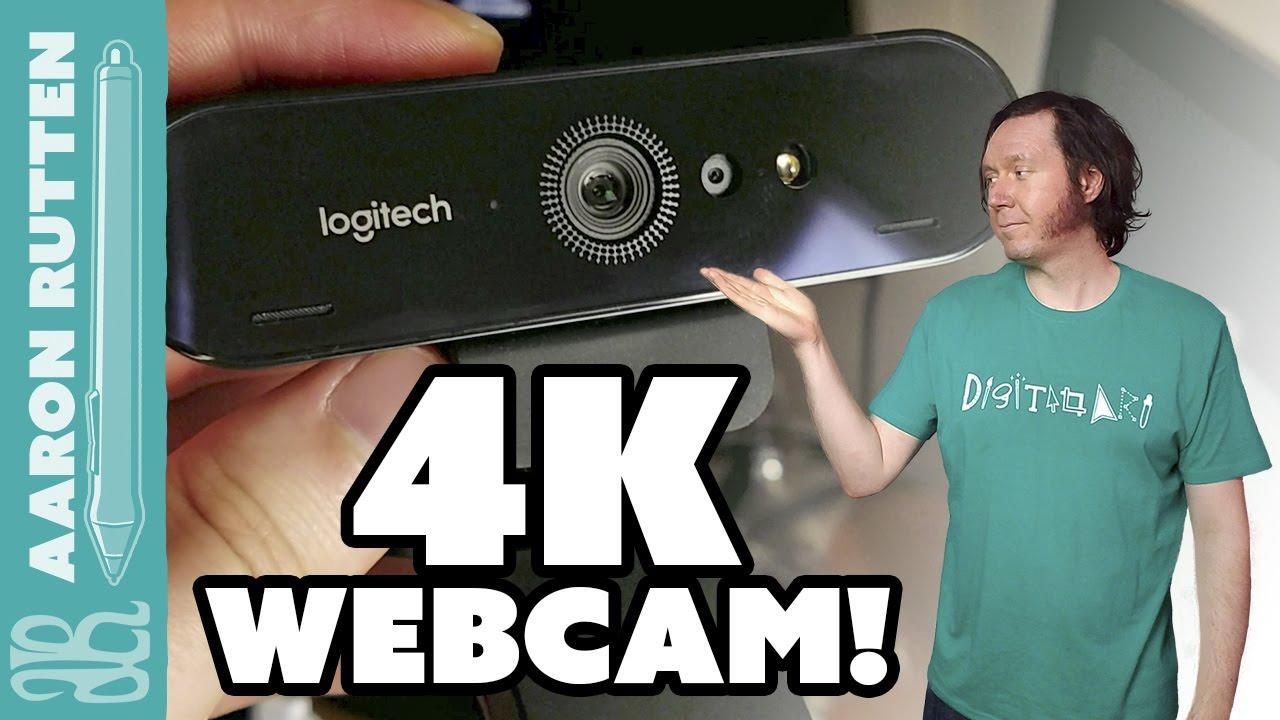 Aaron and webcam