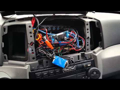 2007 Grand Cherokee Tablet Install, Behind The Tablet  (Part 4)